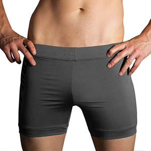 Gray Taupe Hot Yoga Evolve Shorts