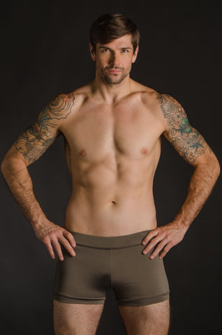 Taupe Hot Yoga Freedom Shorts