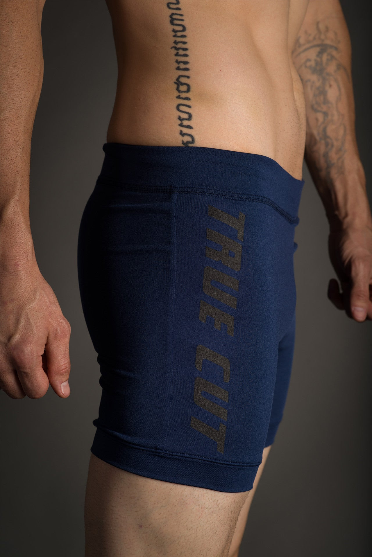 Blue Hot Yoga Cross Training Shorts