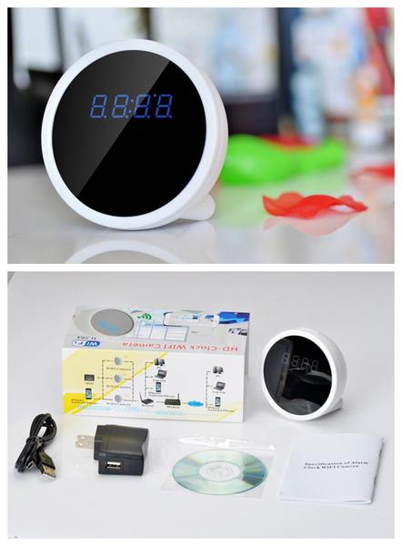 Desk Clock Hidden Camera HD Radio Wifi Clock Spy Camera
