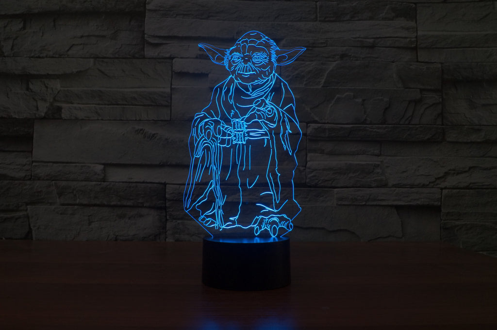 STAR WARS 3D Lamp 8 Changeable Color (FREE SHIPPING)