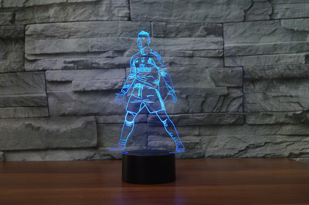 CRISTIANO RONALDO 3D  Lamp 8 Changeable Color [FREE SHIPPING]