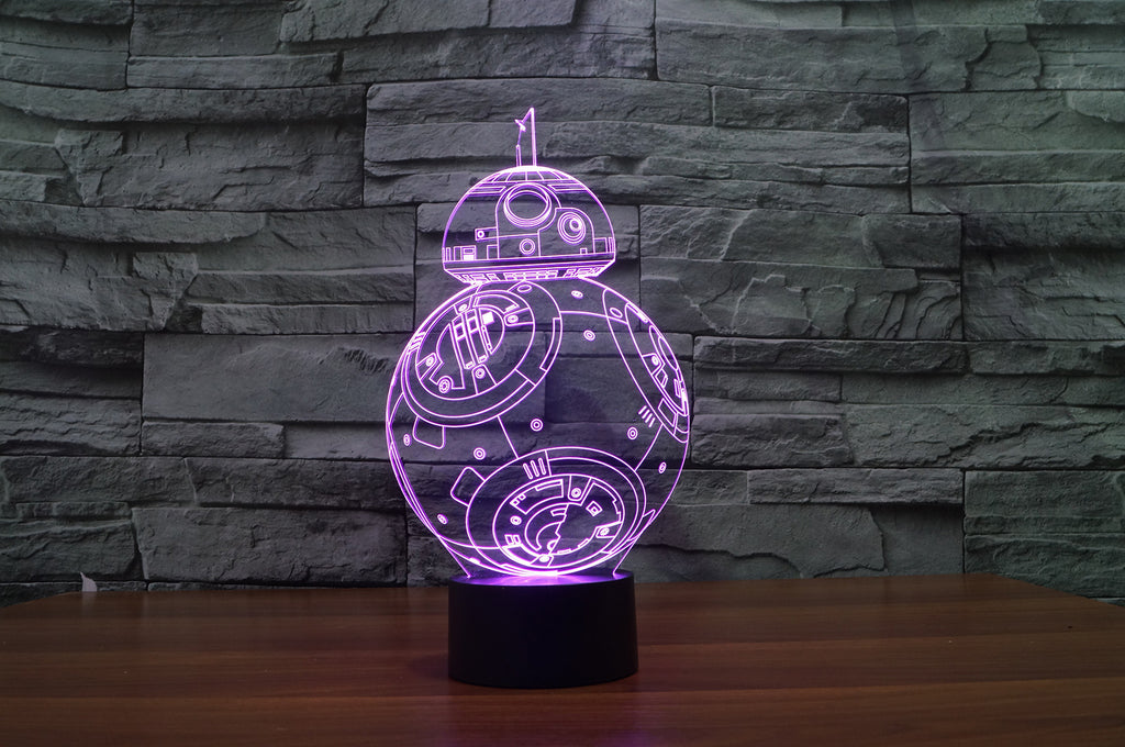 BB8 3D Lamp 8 Changeable Colors [FREE SHIPPING]
