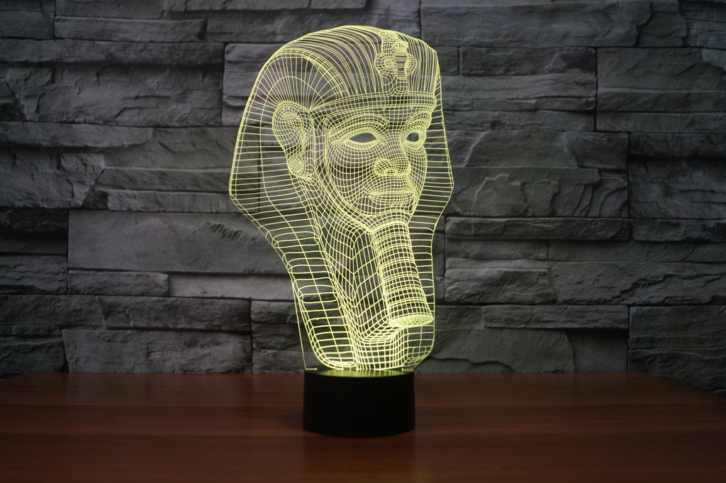 EGYPTIEN 3D Lamp 8 Changeable Color  [FREE SHIPPING]