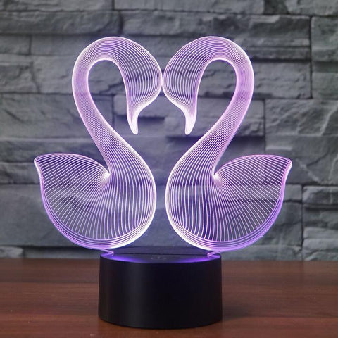 DUCKS 3D  Lamp 8 Changeable Color [FREE SHIPPING]