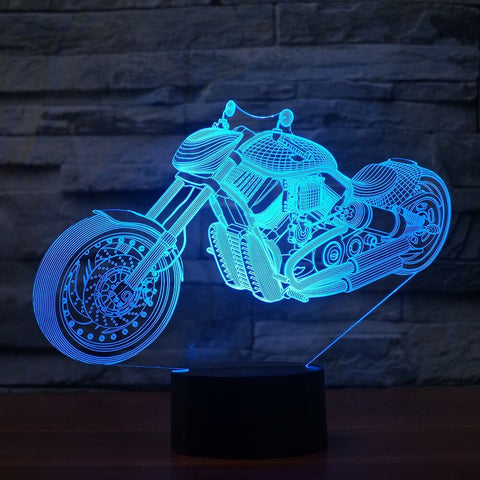 MOTO 3D LAMP 8 CHANGEABLE COLORS