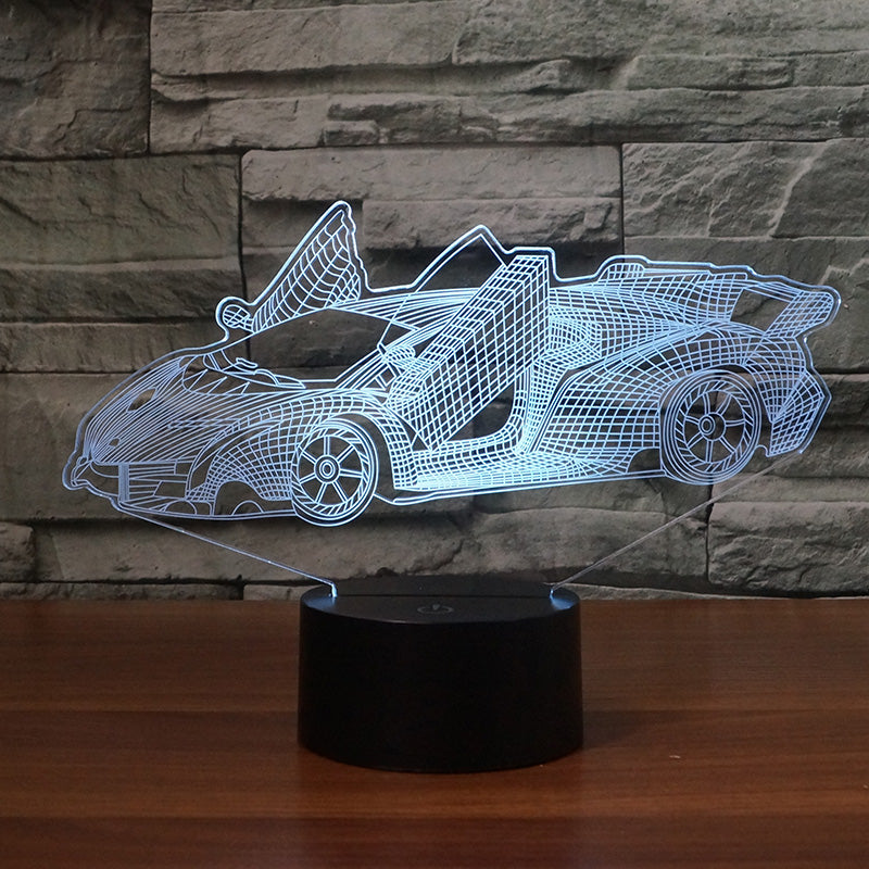 Car22 3D LAMP 8 CHANGEABLE COLORS