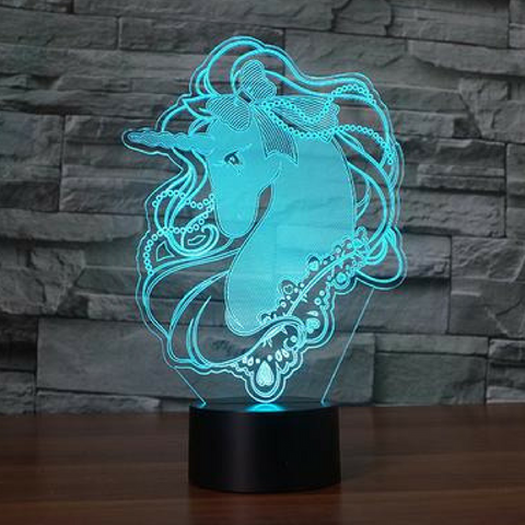 UNICOR 3D Lamp 8 Changeable Colors [FREE SHIPPING]