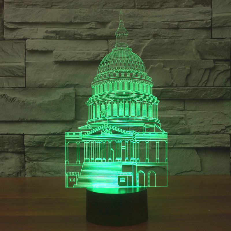 SYDNEY OPERA HOUSE 3D  Lamp 8 Changeable Color [FREE SHIPPING]