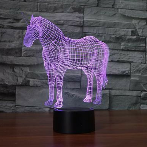UNICOR 3D Lamp 8 Changeable Colors big size [FREE SHIPPING]