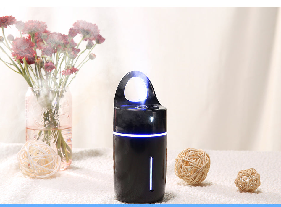 Magic Cup Colorful Ultrasonic Humidifier LED Nightlight