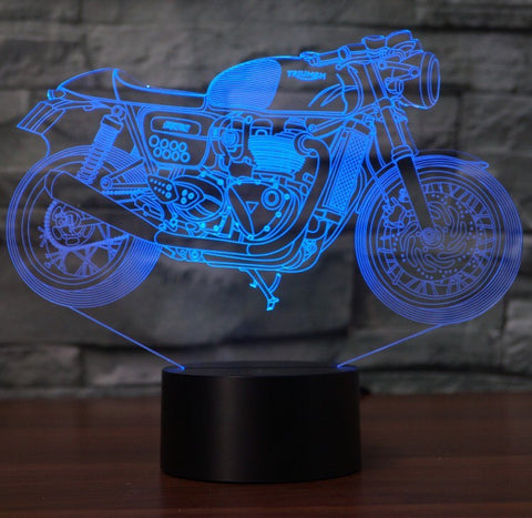 TRIUMPH  3D  Lamp 8 Changeable Color [FREE SHIPPING]