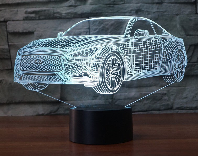 INFINITI Q60 3D  Lamp 8 Changeable Color [FREE SHIPPING]