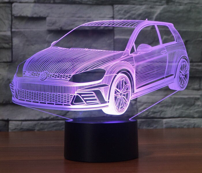 GOLF 3D Lamp 8 Changeable Colors big size [FREE SHIPPING]
