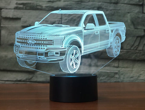 FORD F-150 3D  Lamp 8 Changeable Color [FREE SHIPPING]