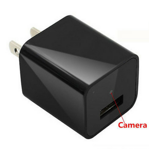 ORIGINAL 1080P USB Mini Spy Hidden Wall Charger Camera Adapter Power Plug Camera