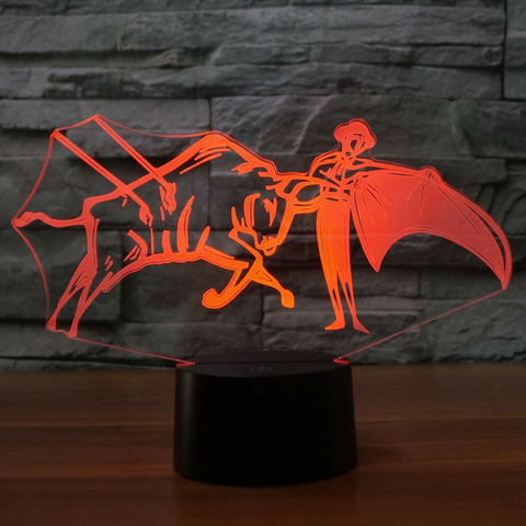 LA CORRIDA  3D  Lamp 8 Changeable Color [FREE SHIPPING]