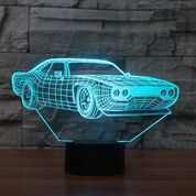 Chevelle 3D  Lamp 8 Changeable Color [FREE SHIPPING]