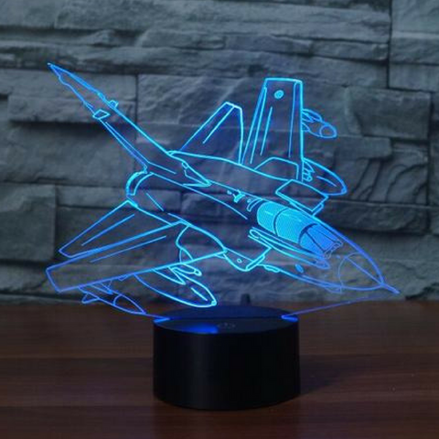 Panavia Tornado GR1 3D LAMP 8 CHANGEABLE COLORS