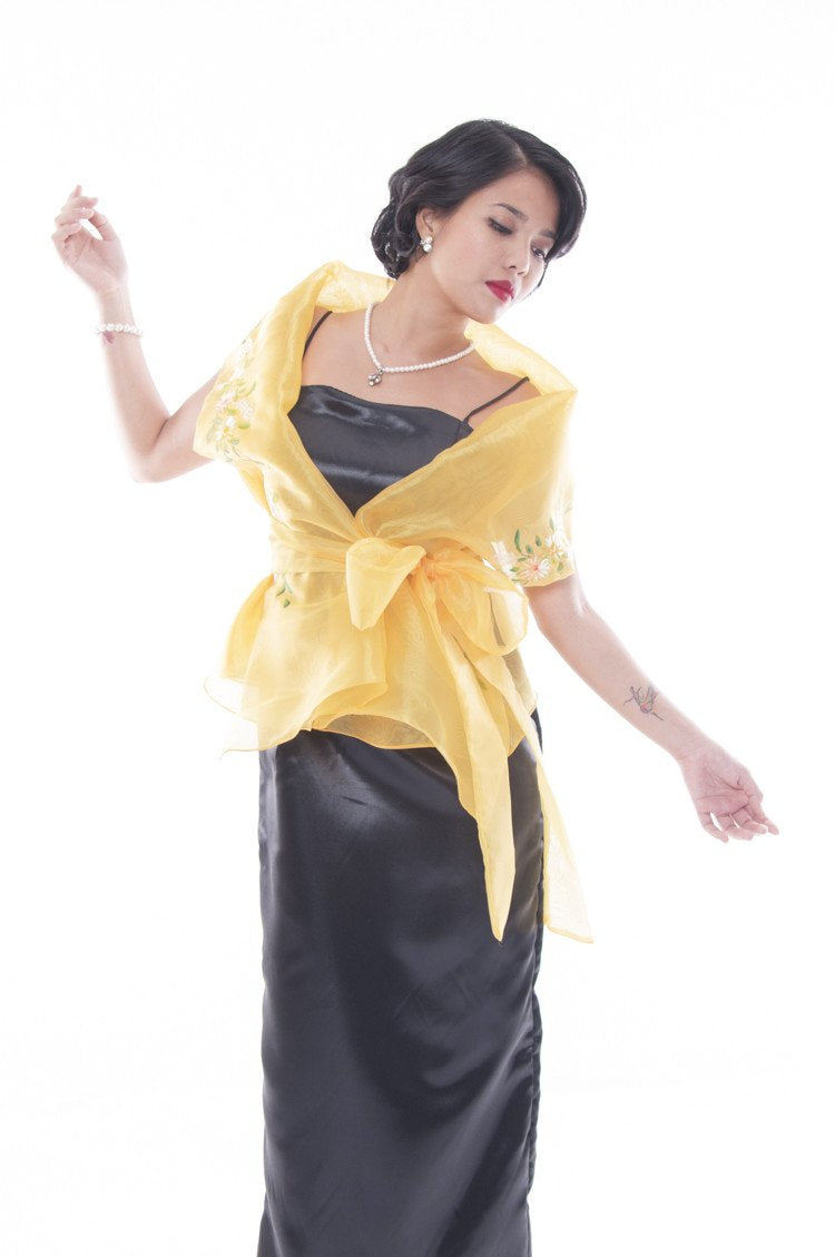WOMEN - Filipiniana Gowns and Sets Tagged \