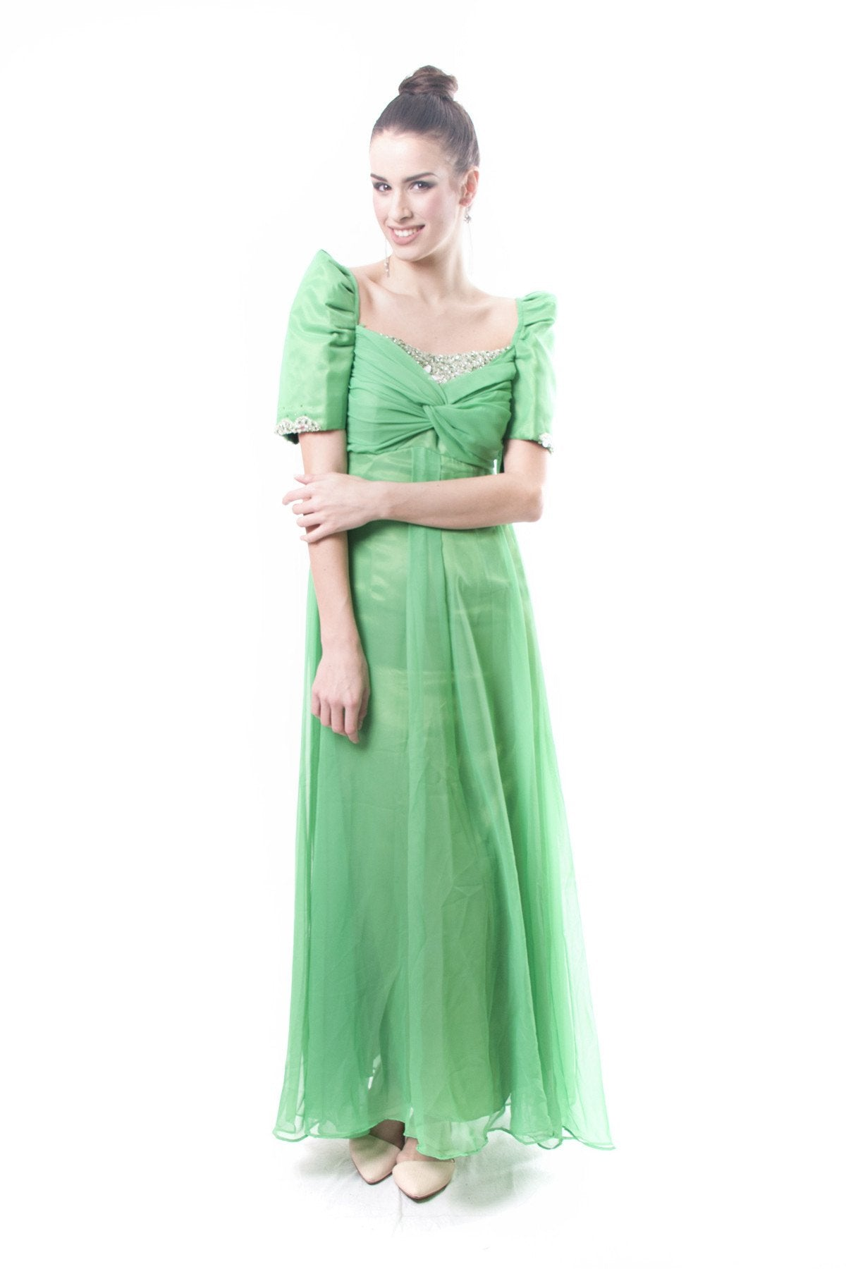 PRE-ORDER - Filipiniana Gown Bohol 001 - Barong Warehouse PH