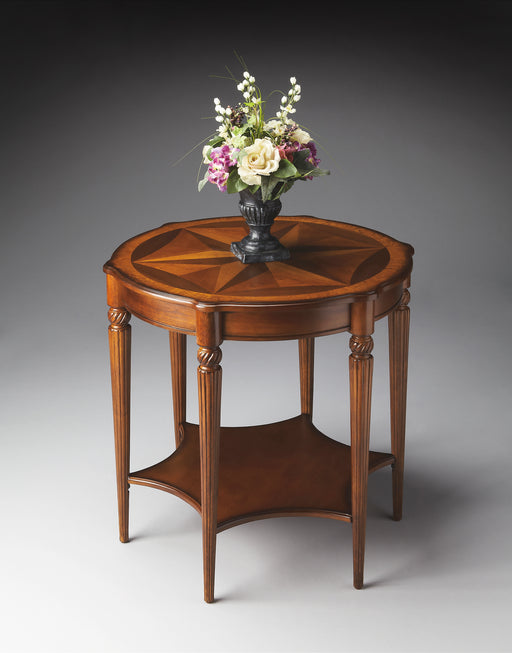 Bainbridge Olive Ash Burl Accent Table