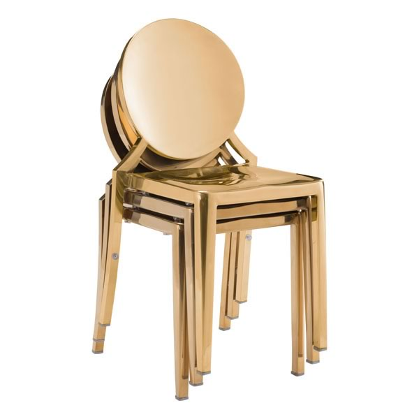 Dining Chair Gold - Geary Rd