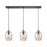 ELK Lighting 10910/3LP Barrel 3 Pendant Oil Rubbed Bronze Oil Rubbed Bronze Free Parcel Delivery