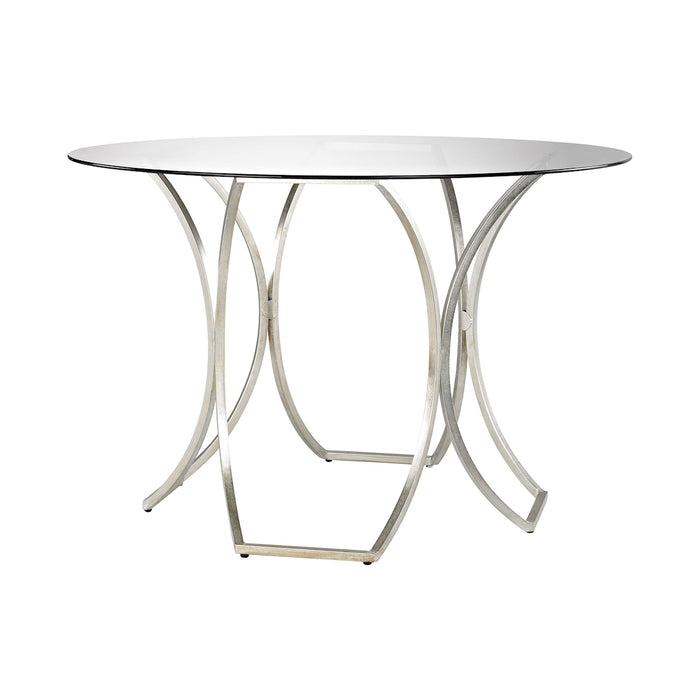 1114-223 Clooney Entry Table Champagne Gold