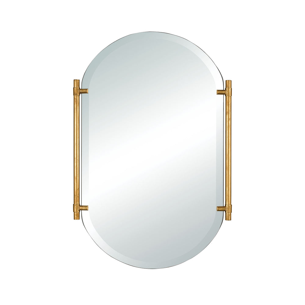 1114-380 Actor's Chapel Wall Mirror Clear, Gold