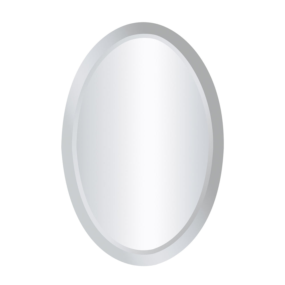 114-07 Clear Mirror -Oval Clear
