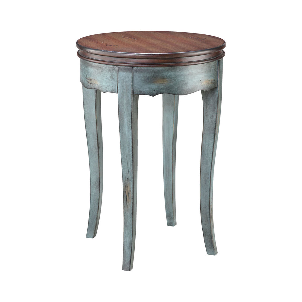 12035 Hartford Accent Table Moonstone Blue