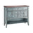 12038 Hartford Console Blue, Hand-Painted