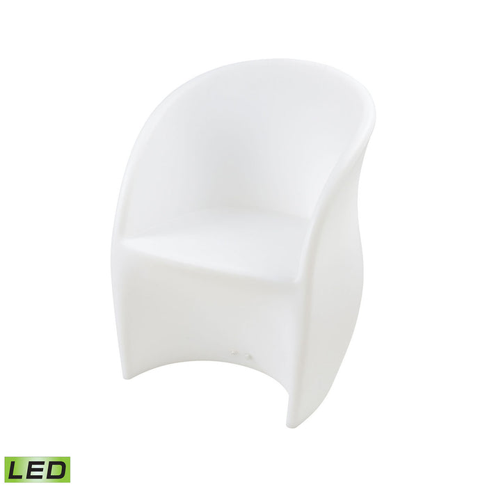 1222-001 Jibe Outdoor Chair White