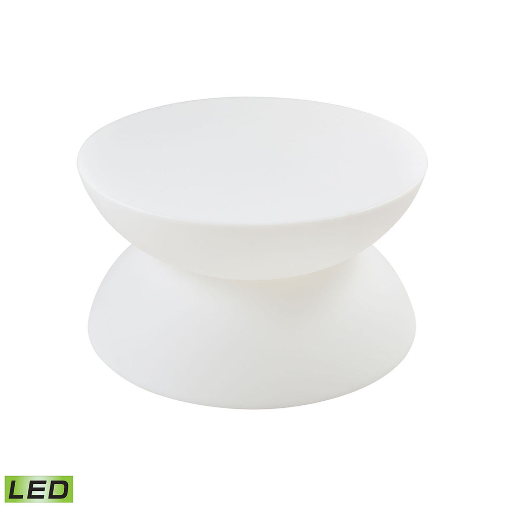 1222-002 Jibe Outdoor Coffee Table White