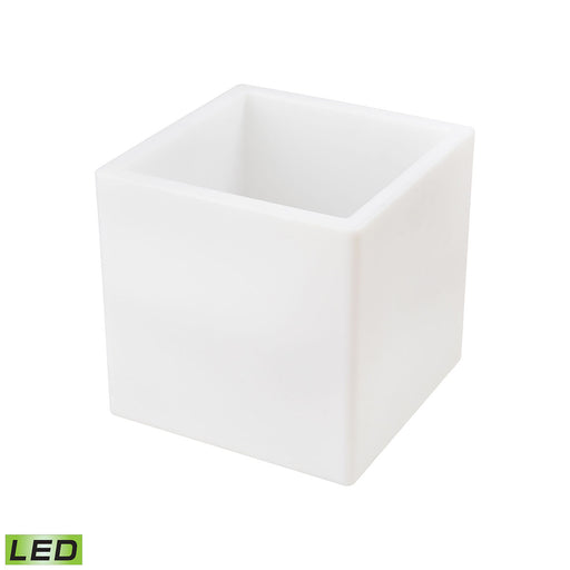 1222-005 Jibe Outdoor Planter White