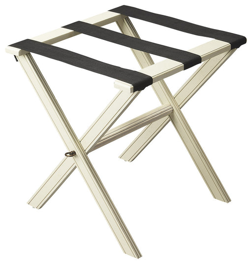Anthony Cottage White Luggage Rack