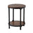 12356 Kirstin Table Black, Reclaimed Wood