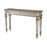 12360 Mikala Table Gold, Hand-Painted, Silver