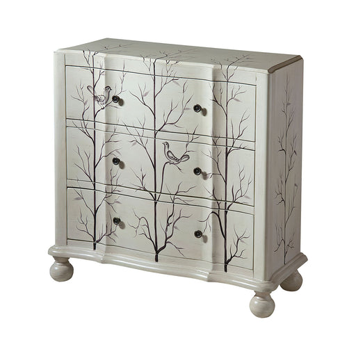12416 Beatrice Chest Hand-Painted, White