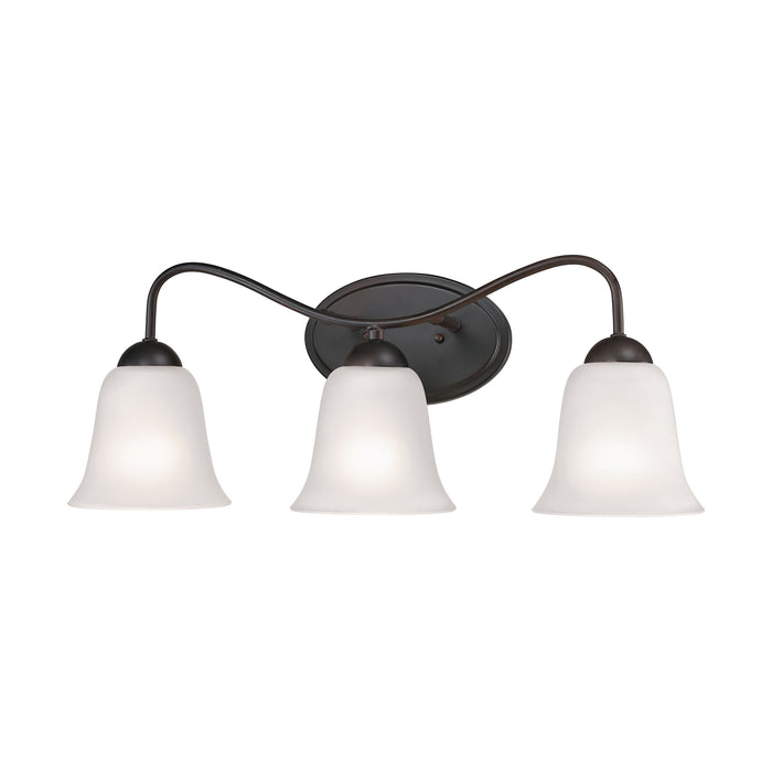 Thomas Lighting 1253BB/10 Conway 3 Light Vanity Light In Oil Rubbed Bronze Oil Rubbed Bronze