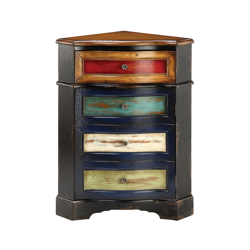 12897 Shiloh Cabinet Blue, Green, Red