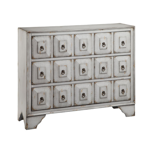 13085 Mohala 3 Drawer Chest In Aegean Mist Aegean Mist, Hand-Painted