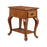 13189 Shenandoah Chairside Table Honey Oak