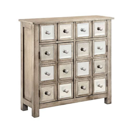 13505 Estrada Accent Cabinet Antique Honey, Hand-Painted, Wheat