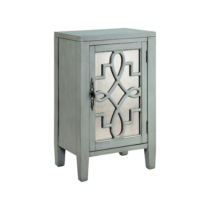 13515 Leighton Cabinet Blue, Hand-Painted