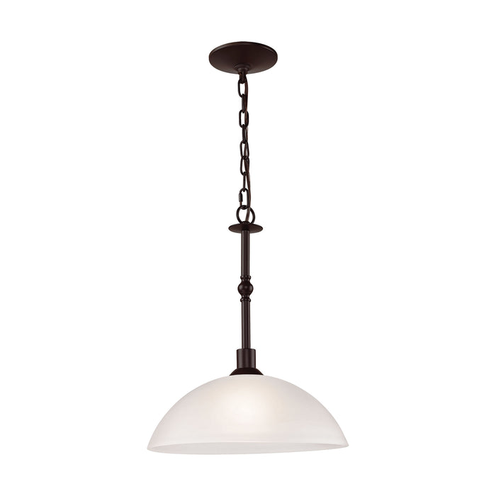 Thomas Lighting 1351PL/10 Jackson 1 Light Pendant In Oil Rubbed Bronze Oil Rubbed Bronze