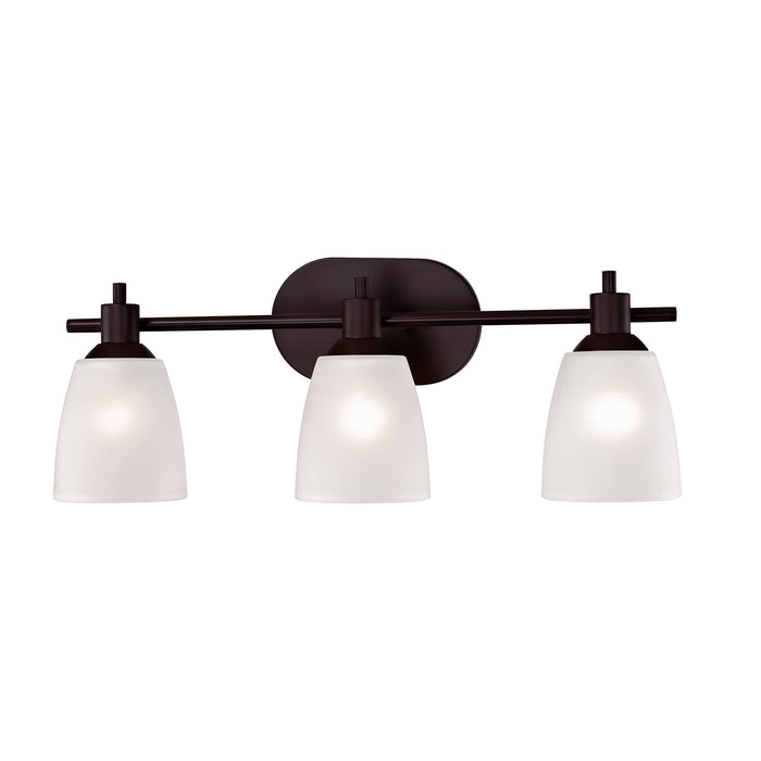 Thomas Lighting 1353BB/10 Jackson 3 Light Vanity Light In Oil Rubbed Bronze Oil Rubbed Bronze