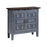 13676 Corning Cabinet Blue, Brown, Hand-Painted