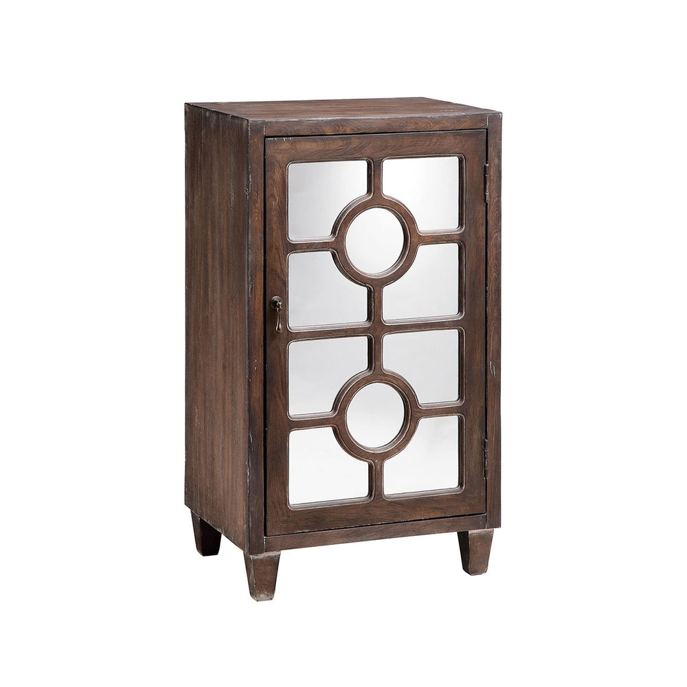 13705 Olli Cabinet Hand-Painted, Walnut